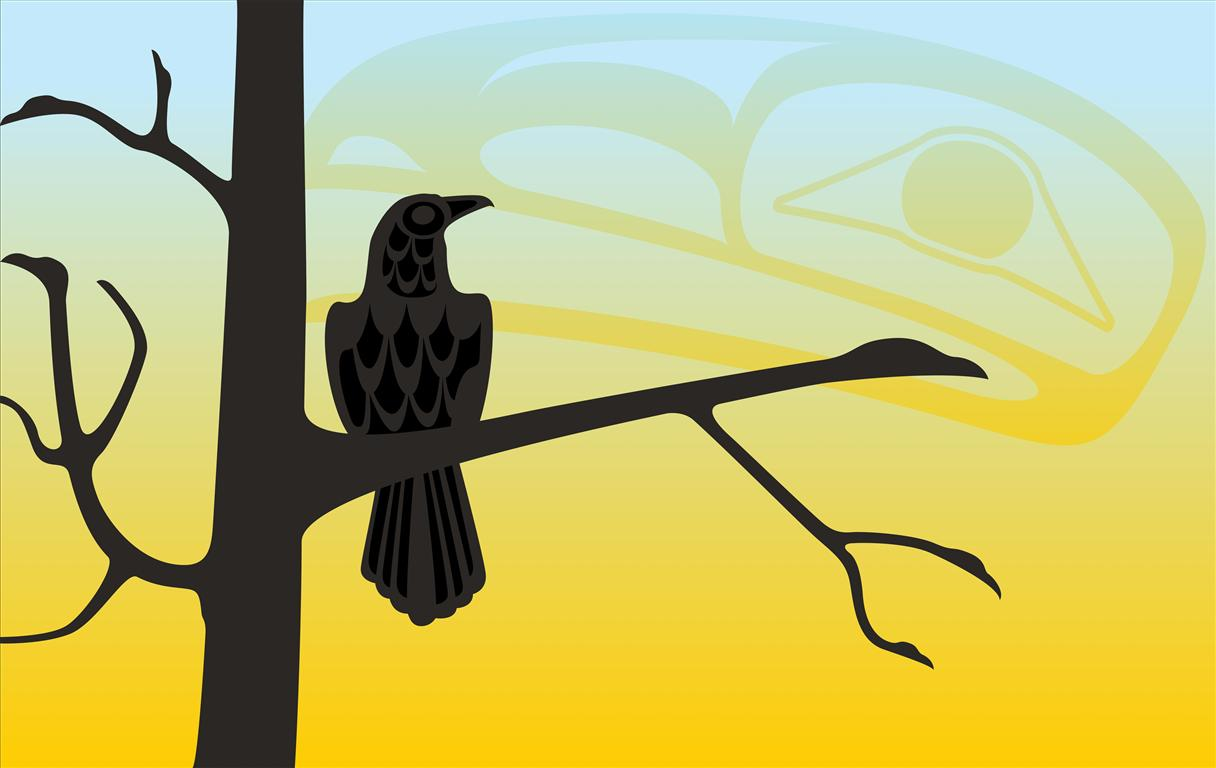 11-Raven In Tree
